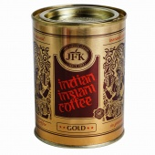 "Кофе растворимый ""Indian instant coffee"" Gold 100 гр. JFK"